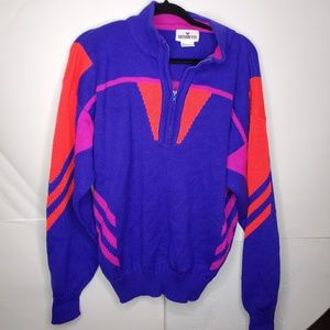 Vintage mens obermeyer sport sweater